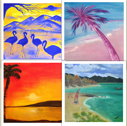 acrylic painting online classes courses